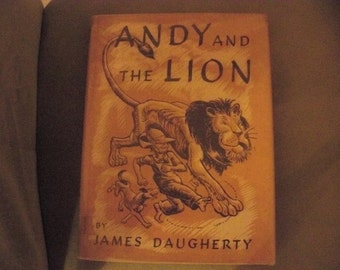 Andy and the lion hard cover