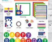 Art Printable Party Collection