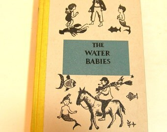 The Water Babies By Charles Kingsley Vintage Childrens Book