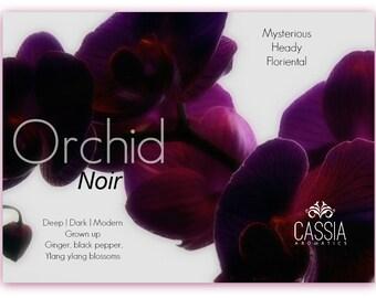 Orchid Noir Oil Perfume Deep Mysterious Ginger Black Pepper Ylang Ylang