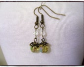 Fall Acorn Dangle Earrings
