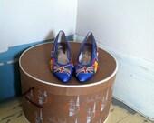 80s world traveler heels size 7