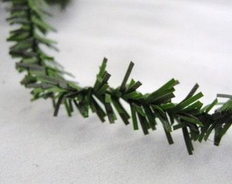 Miniature pine garland roping 1/2 inch 25 feet