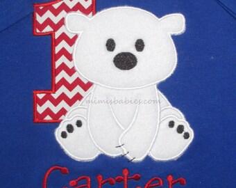 Polar Bear Birthday Shirt