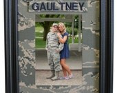 Military Camo Fabric Mat with Name Tape - Your choice of Camo!