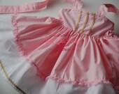 Aurora Sleeping Beauty Princess Dress Costume Pink and Gold Trims & Lace