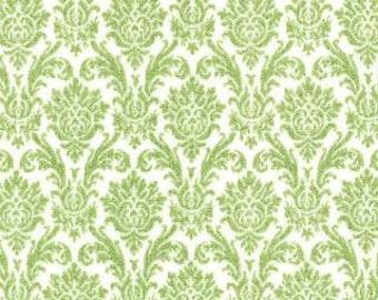 Snow white pear damask..Blitzen..Basic Grey..Moda fabric...