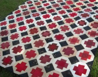 Greek Cross Patchwork Quilt Pattern