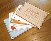 Animal Crossing Stationery Notecards - New Leaf Set, 10 cards per set