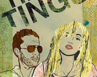 The Ting Tings Poster - Limited Edition of 100