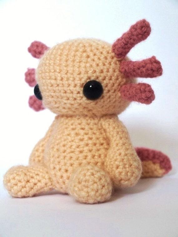 Axolotl - Amigurumi Crochet Pattern