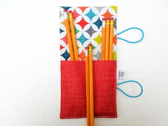 Mini Pencil Roll Cathedral Windows 10 12 by paperfromheaven