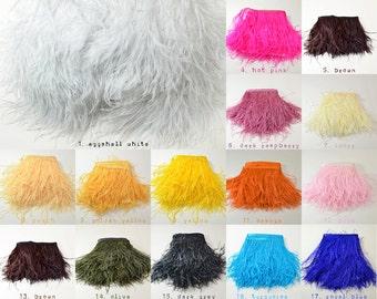 PICK YOUR OWN - Vogue Ostrich Thrill - Feather Trim - Ostrich Trim