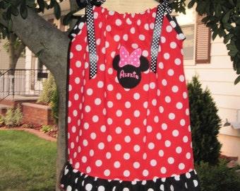 Personalized Custom Pillowcase Dress with Ruffles