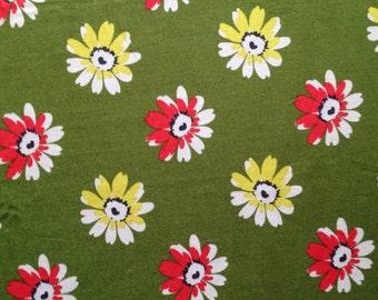 Green Daisy 1/2 Yard - Daisy Mae by Denyse Schmidt
