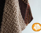 Chocolate&cream pin loom skirt