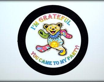 Grateful Dead Favor Tags (8)