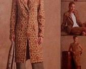Long Jacket and Pants Sewing Pattern UNCUT McCalls M4633 Sizes 10-16