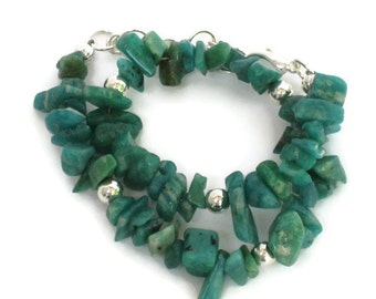 Amazonite Anklet, Gifts for Women Wife Mom Daughter Sister Grandma Under 25, Mothers Day, Christmas Birthday Gifts