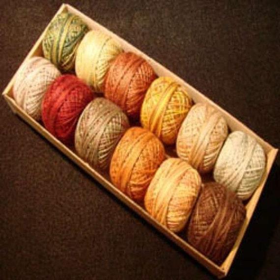 Valdani Perle Cotton Size 12 Embroidery By AliceInStitchesArts