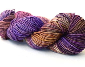 Hand dyed yarn cashmere - worsted - 115g