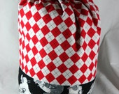 Backpack Style Knitting or Crochet Tote with Drawstring Closure