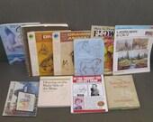 Ten Vintage Drawing Books
