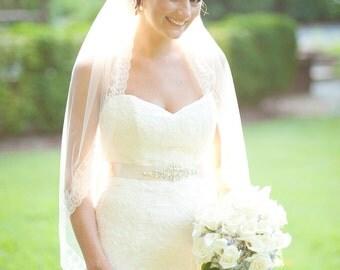 Emma Bridal Wedding Dress Rhinestone Crystal Embellished Belt Sash Vintage Wedding Art Deco