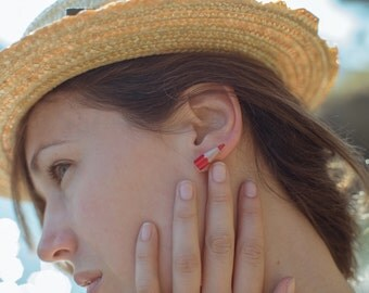 Sharp earrings