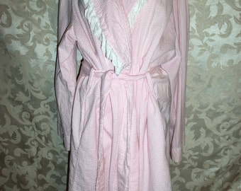 Vintage Pink Robe Made in India