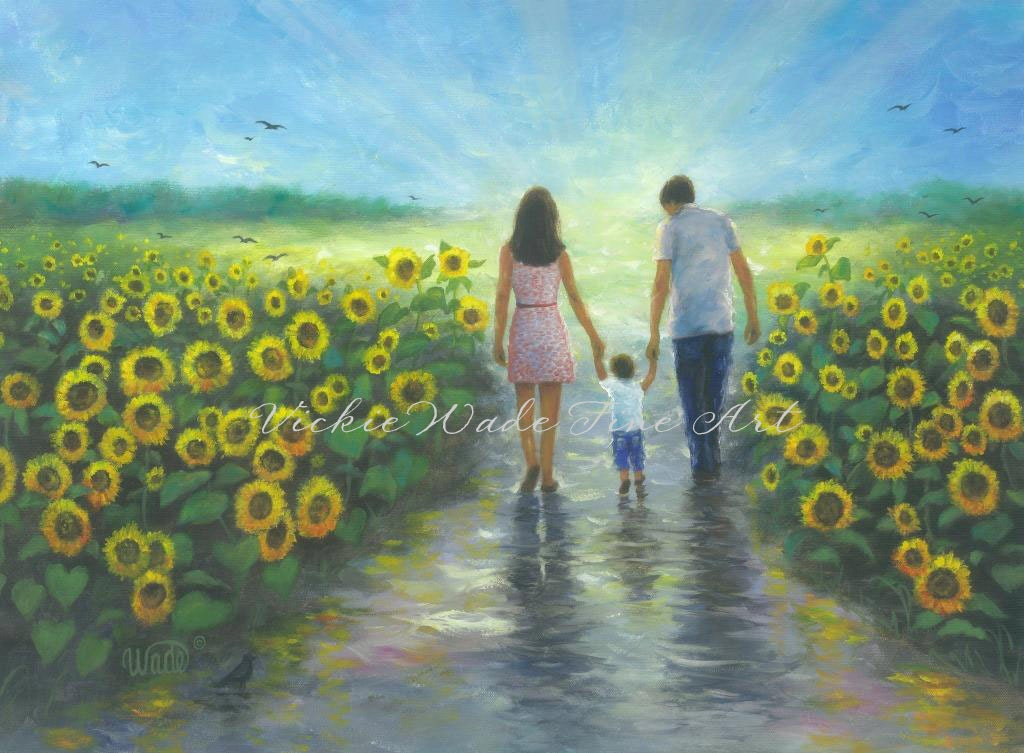 Image result for mother father and child paintings