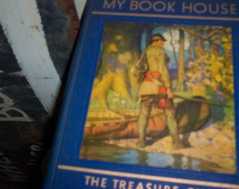 My Book House  7   volume collection from 1954  and parents guide