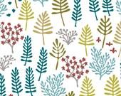 Organic Cotton Fabric- cloud9  Nature Walk - CLEARING reprint- Fabulous Shipping Rates
