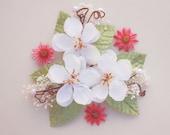 wedding flower, hair accessories, bridal aceccessories