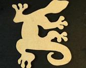 17 inch Gecko Shaped MDF Board Mosaic Supplies, Mosaics, Mosaic Base, Craft Supplies