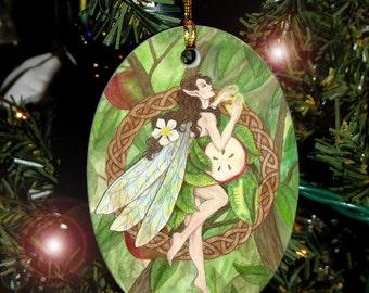 Celtic Apple Fairy Ornament
