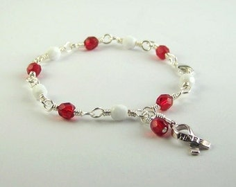 DVT Deep Venous Thrombosis Awareness Bracelet