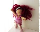 Miss Arabella, a 13 inch Waldorf doll