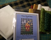Home Sweet Home Tea Towel Kit with Pattern