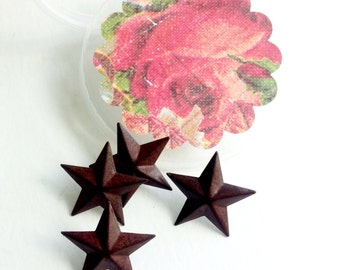 OH my STARS  (4) push pins with decorative container for giving only if you want to :-)