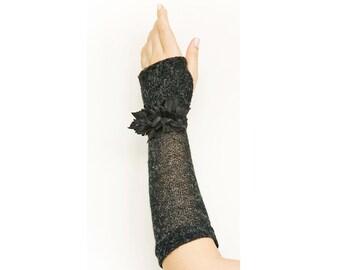Cosy HANDMADE Gloves Fingerless Arm warmers