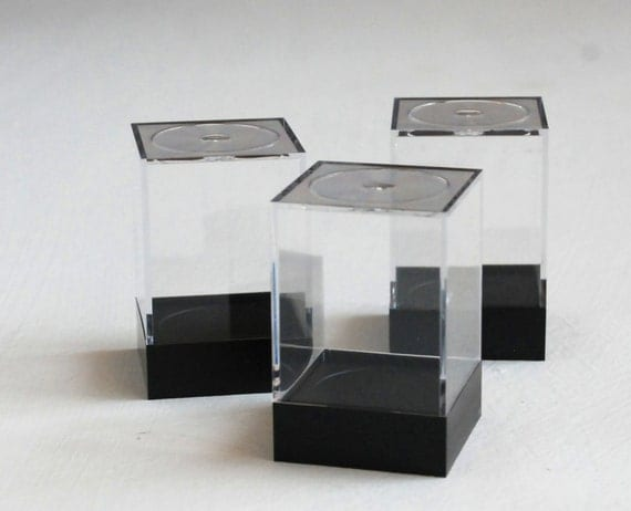 Acrylic Boxes Small : Small clear acrylic display boxes