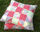 18 inch  Pillow Cover in Amy Butler Love fabrics -- Hidden Star-- pattern also available