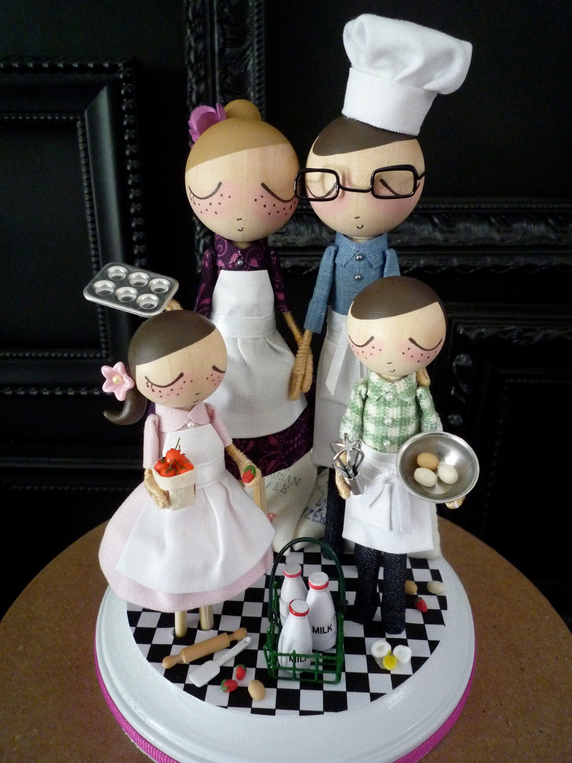 chef groom wedding cake topper wedding cake topper with chef theme as seen in sur la table 12632