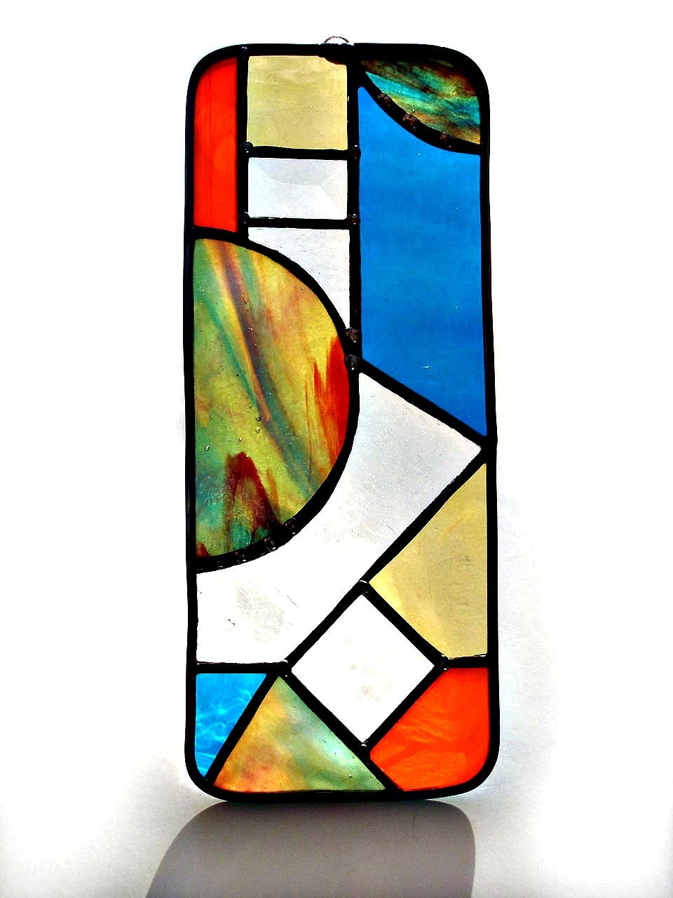 Abstract Stained Glass Suncatcher By Designsstainedglass
