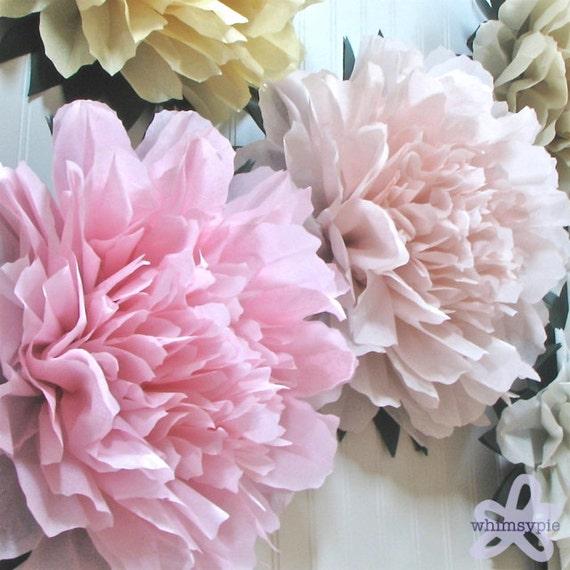 Wedding flowers wedding tissue paper flowers wedding tissue paper flowers mightylinksfo
