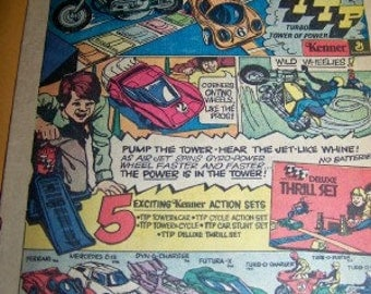 Kenner Toy Company General Mills ad found in a 70's era comic book