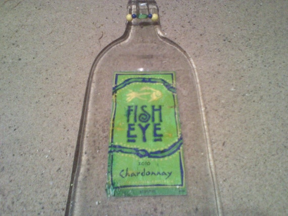 Items similar to fish eye wine cheese tray from melted for Fish eye wine