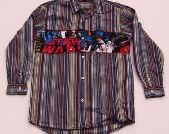 Recycled Star Wars Shirt, Boy Size 8/10