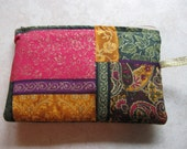 padded makeup jewelry bag